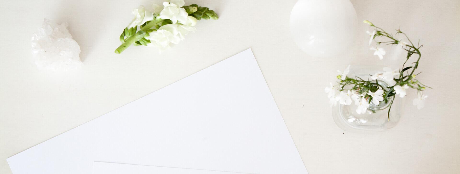 Weiß im Branding