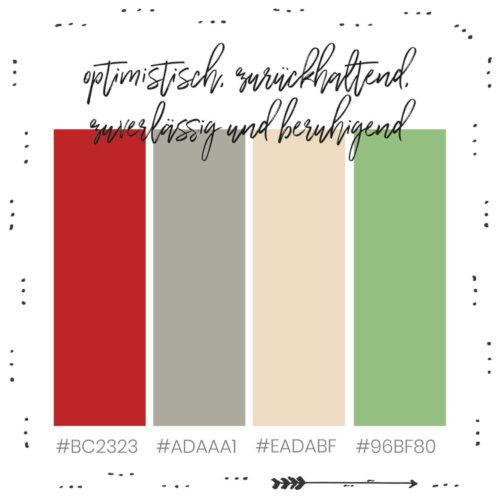 Rot und Grün gemeinsam im Branding
